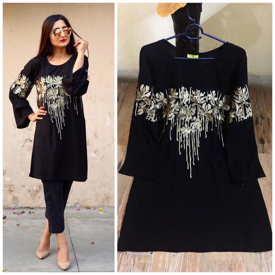 Black Tilla Shirt Only