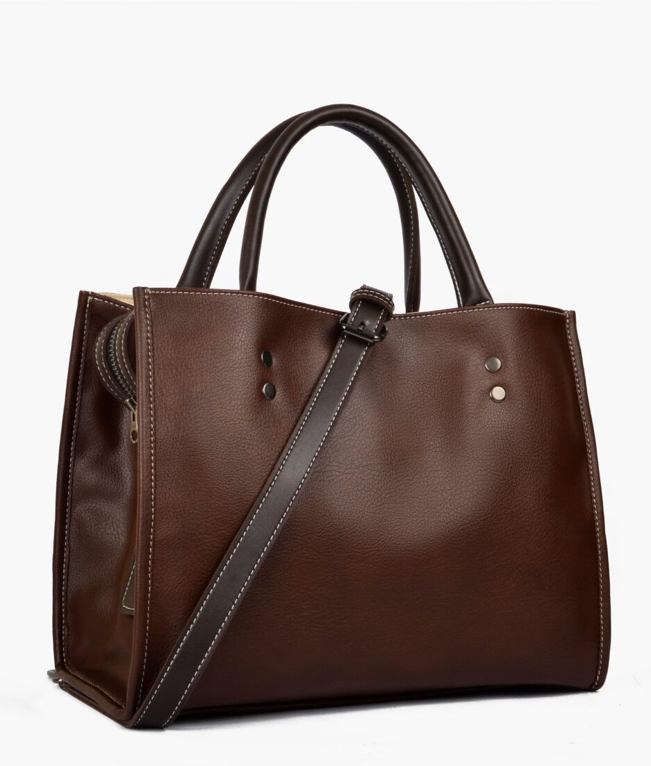 Brown go-anywhere bag