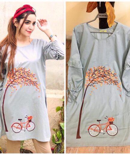 Grey Bicycle