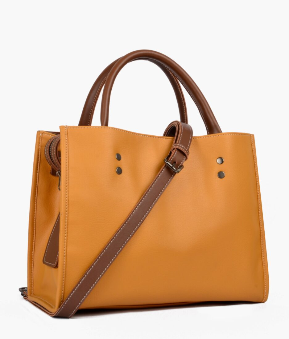 Mustard go-anywhere bag