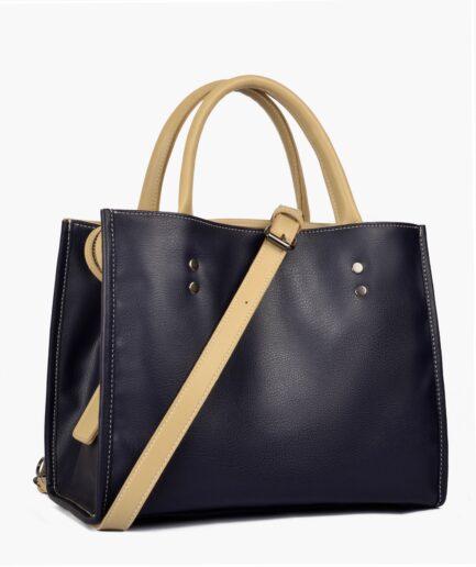 Navy blue go-anywhere bag