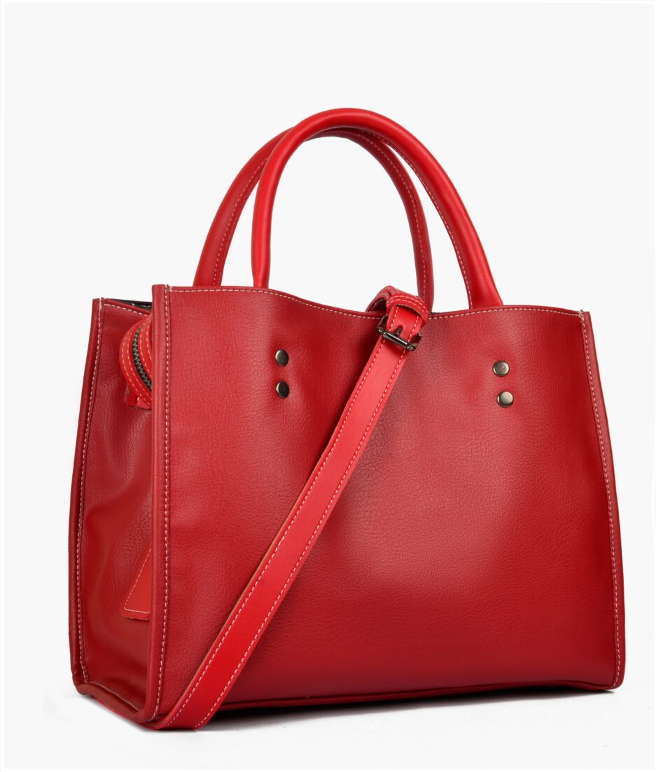 Red go-anywhere bag
