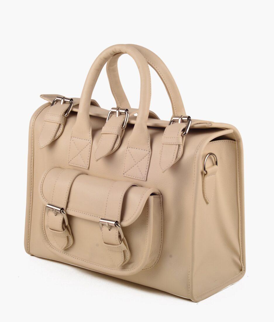 Vanilla satchel bag