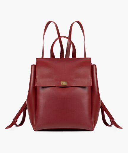 Maroon mini backpack